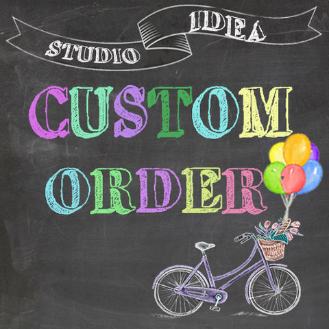 Copy of Custom Order for  Gill