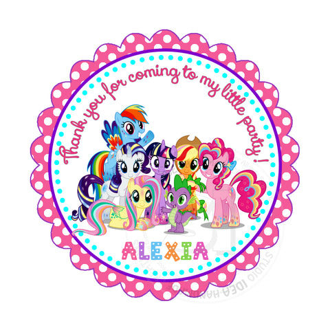 photo regarding My Little Pony Printable named Personalized My Minor Pony Birthday Thank by yourself Printable 2.5\