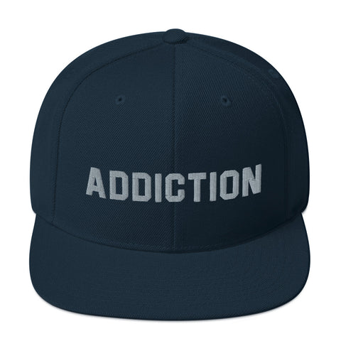 ADDICTION Snapback Hat