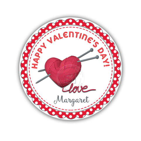 picture relating to Valentine Stickers Printable identified as Valentines working day Personalized Printable Tags- 2.5\