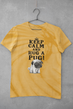 INSTANT DOWNLOAD-KEEP CALM AND HUG A PUG-IRON-ON TRANSFER-PRINTABLE FILES- T-Shirt prints