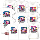 INSTANT DOWNLOAD-IRON-ON TRANSFER-Set of 12 Family-Friend Members TROLLS 2-World Tour Inspired Theme IRON ON Transfers- Birthday Girl Trolls Party T-Shirt prints