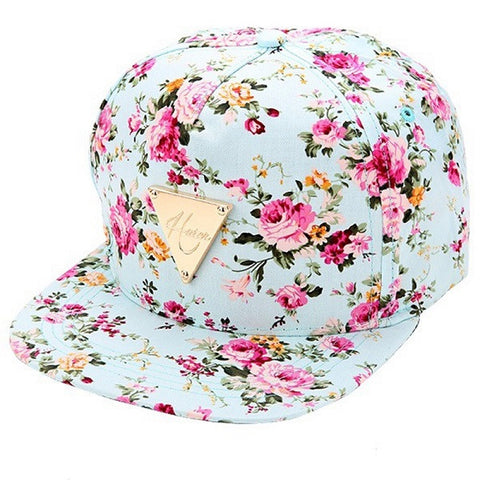 Tangy Rose Rave Snapback