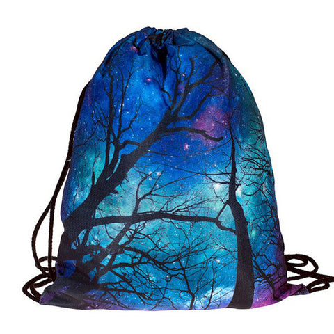 Twilight Rave DrawString Bag