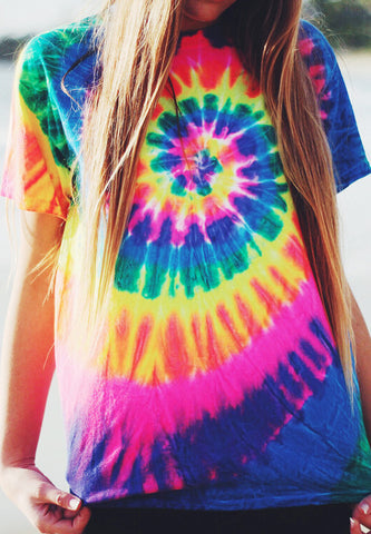 Distortion Tie Dye Tee