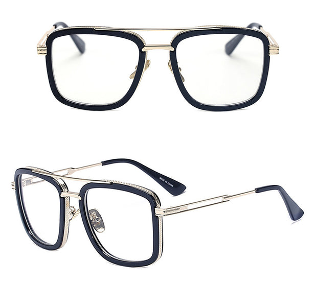 Black and Gold Vintage Glasses