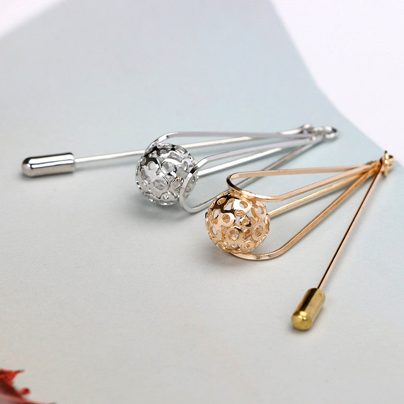 Hanging Ball Lapel Pin