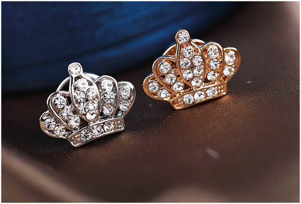 Diamond Crown Pins