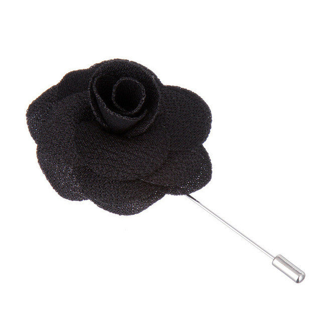 Handmade flower Lapel Pins