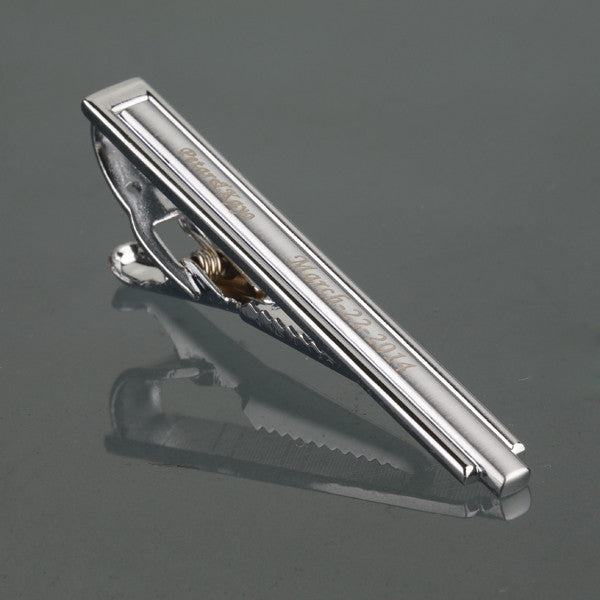 Personalised Tie Clips
