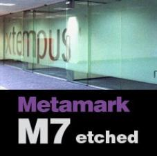 Metamark M7 Dusted Etch Self Adhesive Vinyl
