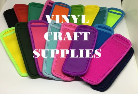 Blank Products Vinyl Craft Supplies