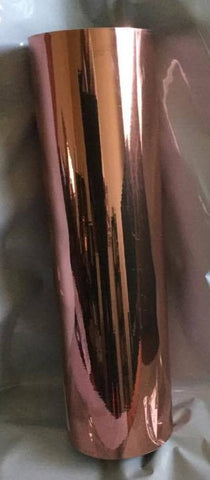 Rose Gold Metallic Self Adhesive Vinyl Vinyl Craft Supplies