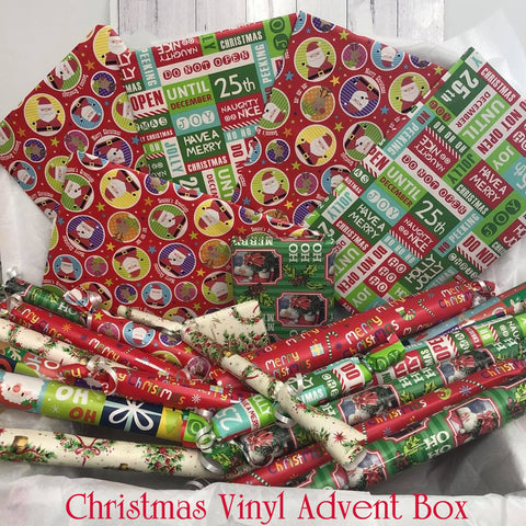 Christmas Vinyl Advent Box