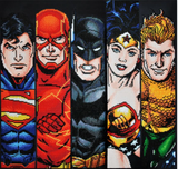 Diamond Dotz 5D Kit - Justice League FABULOUS FIVE- 64cm x 61cm