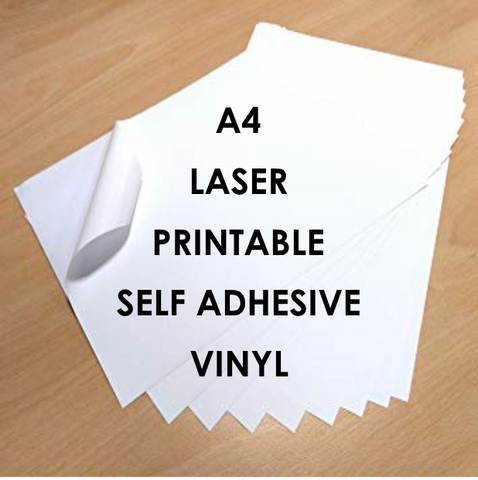Laser Printable Self Adhesive Vinyl