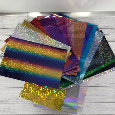 Stahls Holographic HTV Full Color Pack - 20 Sheets