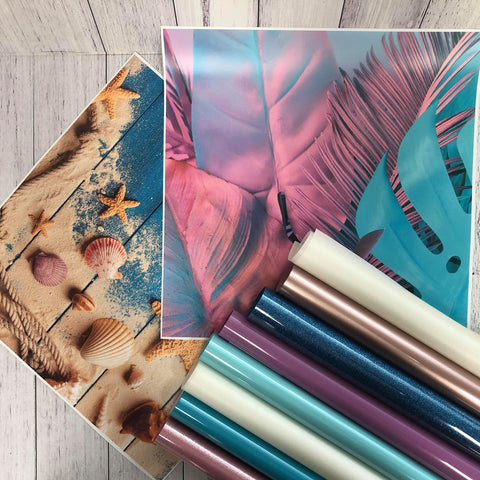 Vinyl Craft Supplies Monthly Box - December