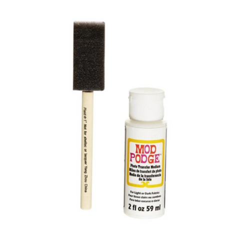 Mod Podge Photo Transfer Medium 2fl oz/59ml with Applicator