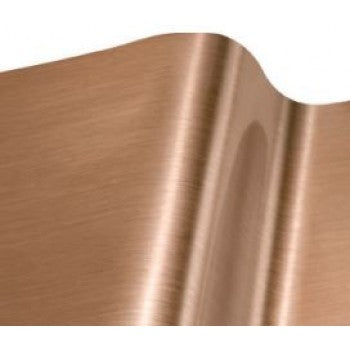 Vinyl EFX Brushed Satin Copper Self Adhesive Vinyl