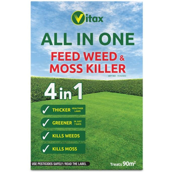 Vitax All In One Feed Weed & Moss Killer 2.88kg