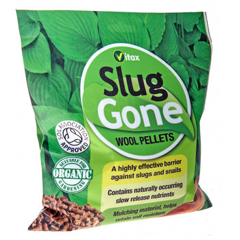 Vitax Slug Gone Wool Pellets - 3.5L