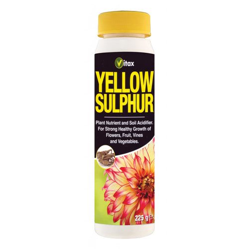 Vitax Yellow Sulphur Treats Powdery Mildew On Flowers & Vegetables