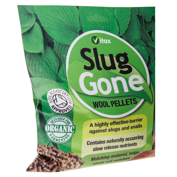 Vitax Slug Gone Wool Pellets 1L