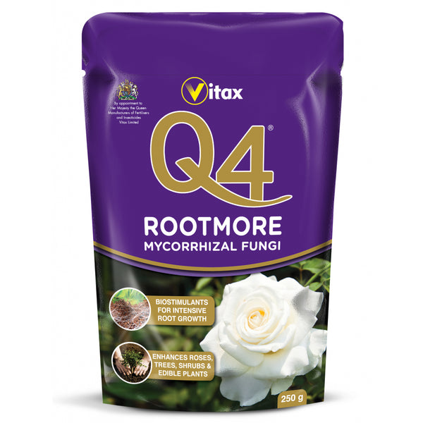 Vitax Garden Q4 Rootmore Enhances Roses,Trees,Shrubs 250g