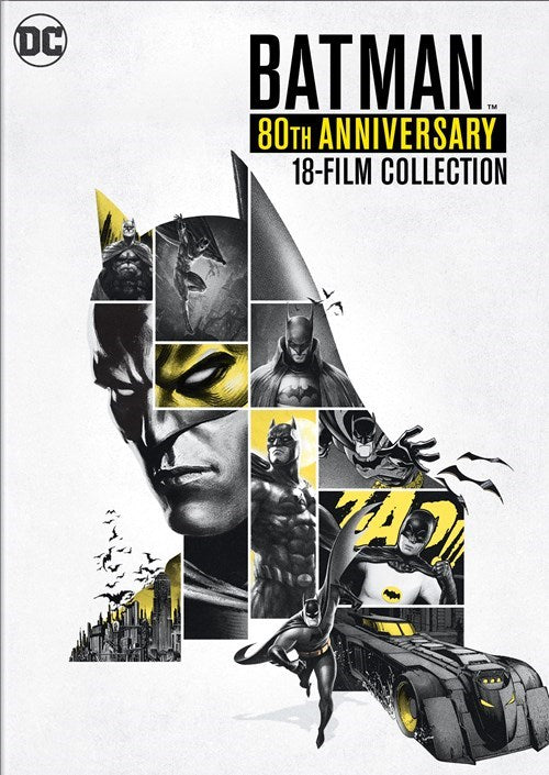 Batman: 80th Anniversary 18-film Collection [Boxsets]
