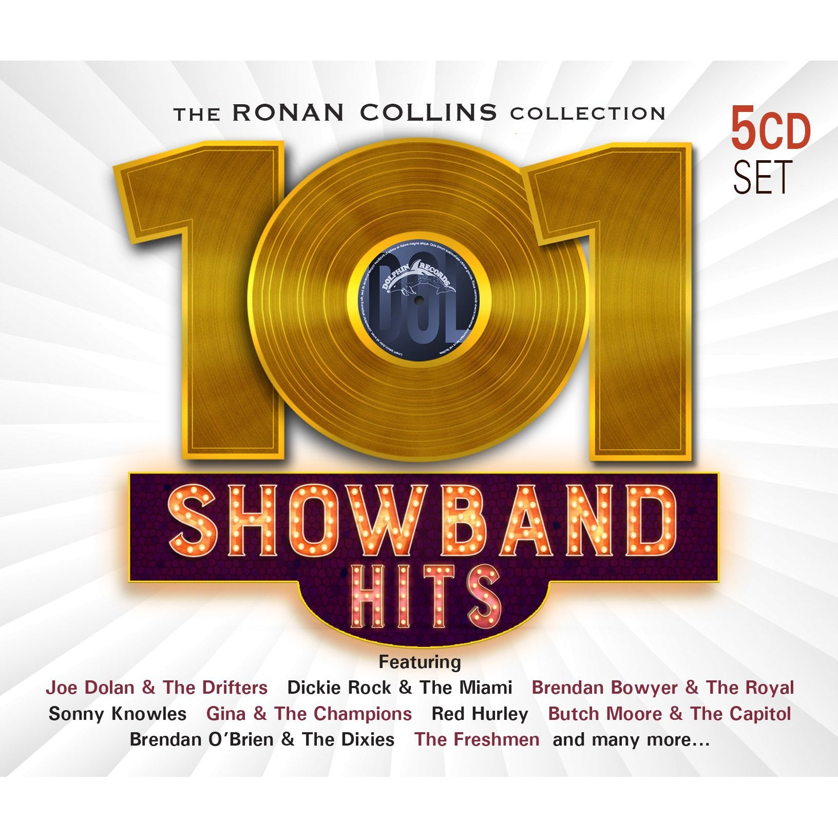 101 SHOWBAND HITS RONAN COLLINS [CD]