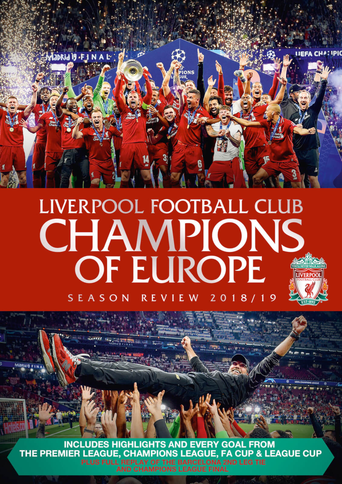 Liverpool FC: End of Season Review 2018/2019 - Liverpool FC [BLU-RAY]
