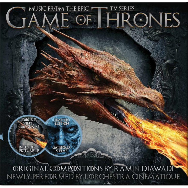 Music from GAME OF THRONES VOL 1 [Colour Vinyl]