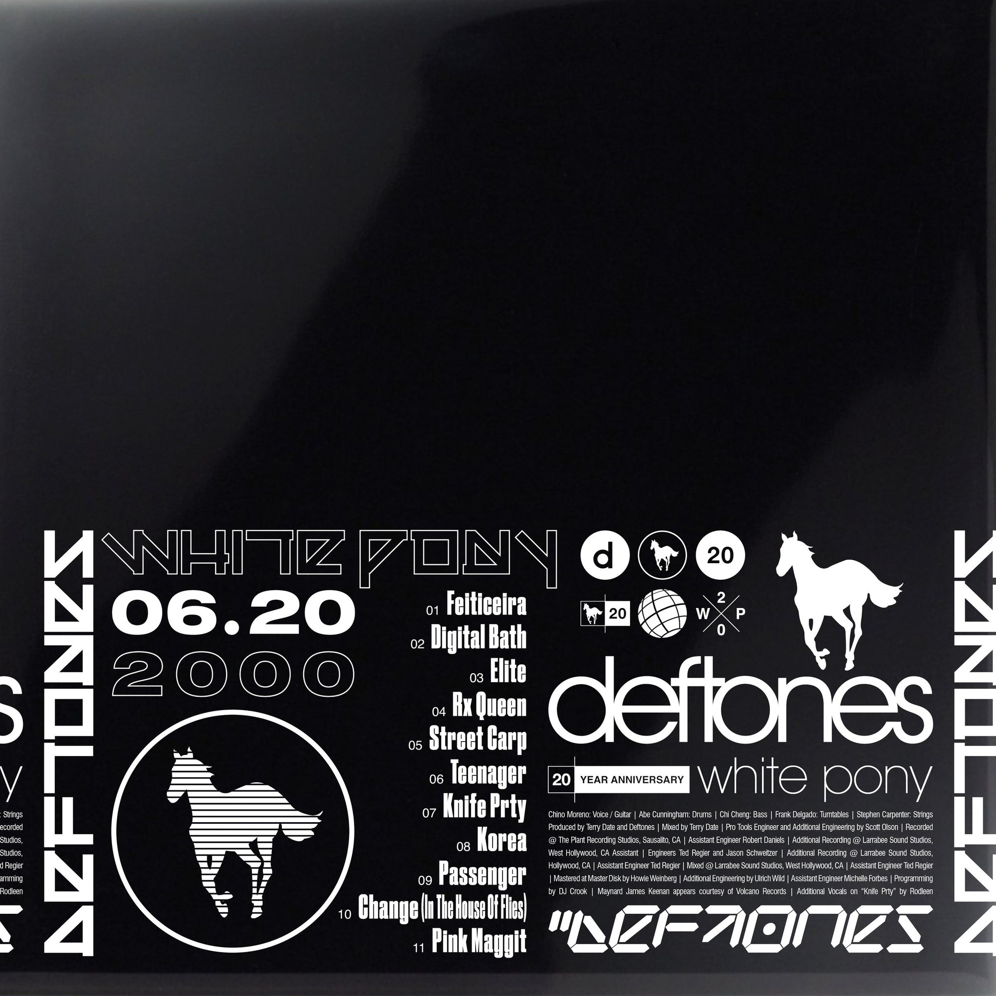 Deftones - White Pony: 20th Anniversary (Exclusive 4LP White Vinyl & Print) [Vinyl]