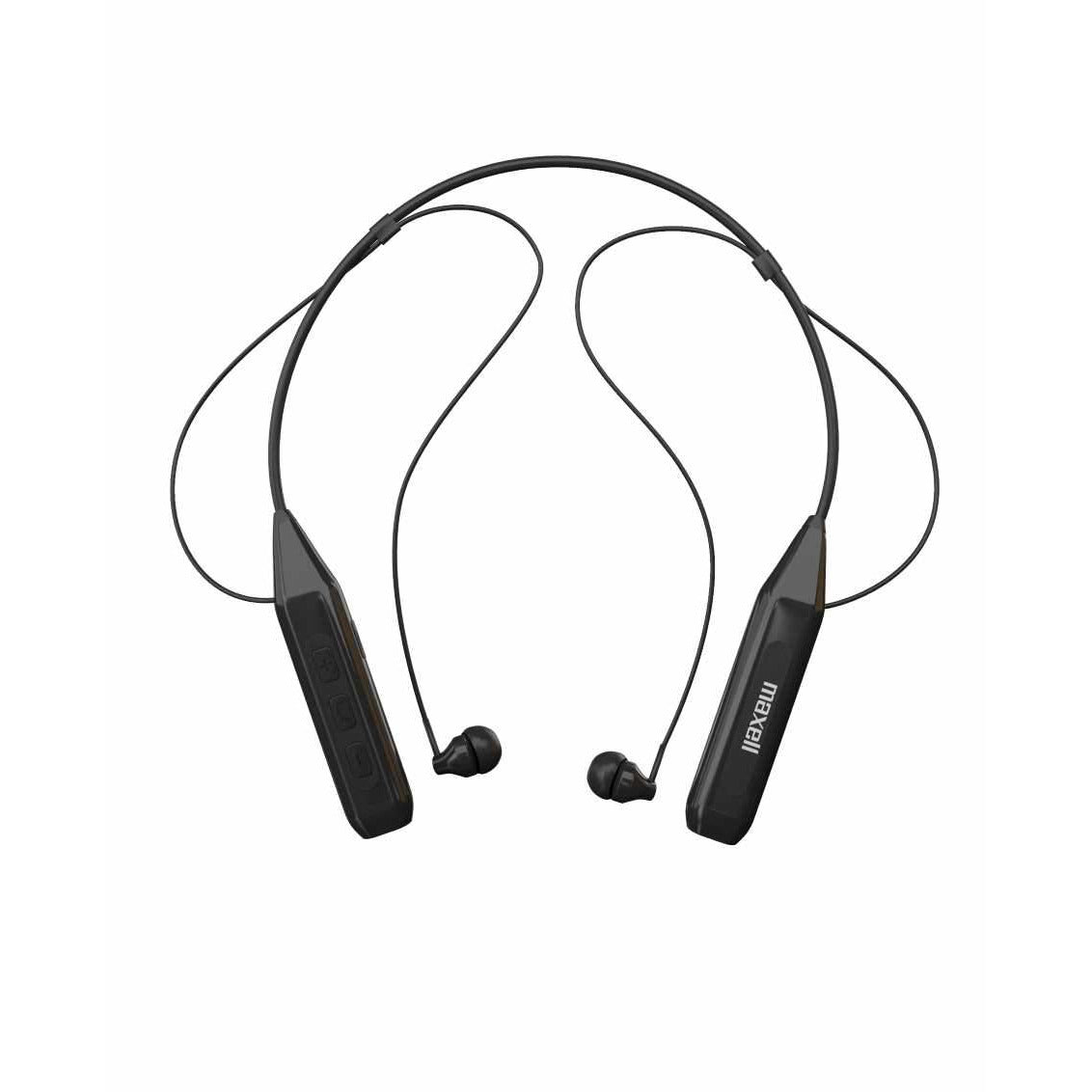 Maxell BT Neckband Earphones Black [Accessories]