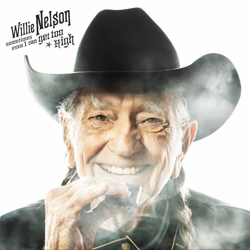 "WILLIE NELSON ""Sometimes Even I Can Get Too High"" b/w ""It's All Going To Pot"" (w/ Merle Haggard) (RSD Release) [Vinyl]"