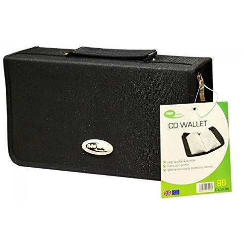 Neo Media Nylon Carry Case for 96 CDs - Black [Accessories]
