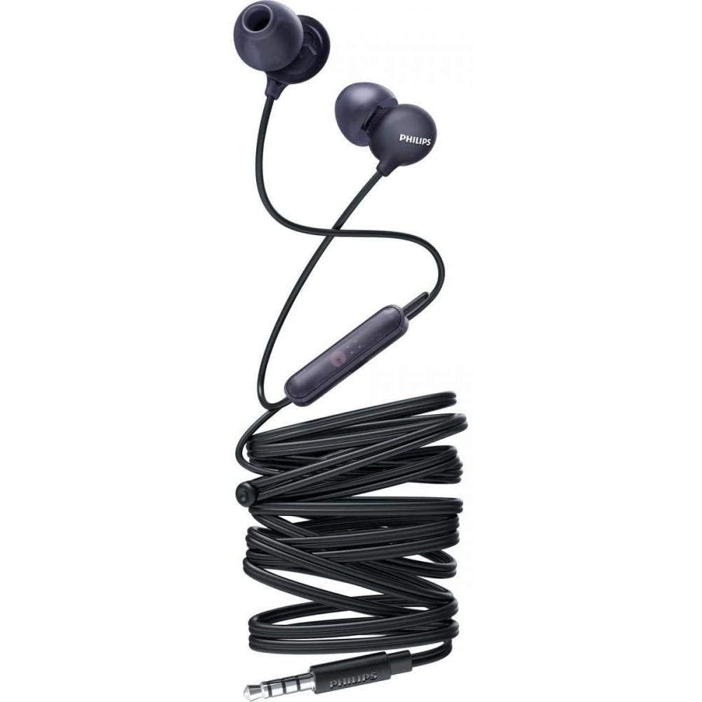 Philips in-ear headphones SHE2405BK/00 in-ear headset with microphone - Black [Accessories]