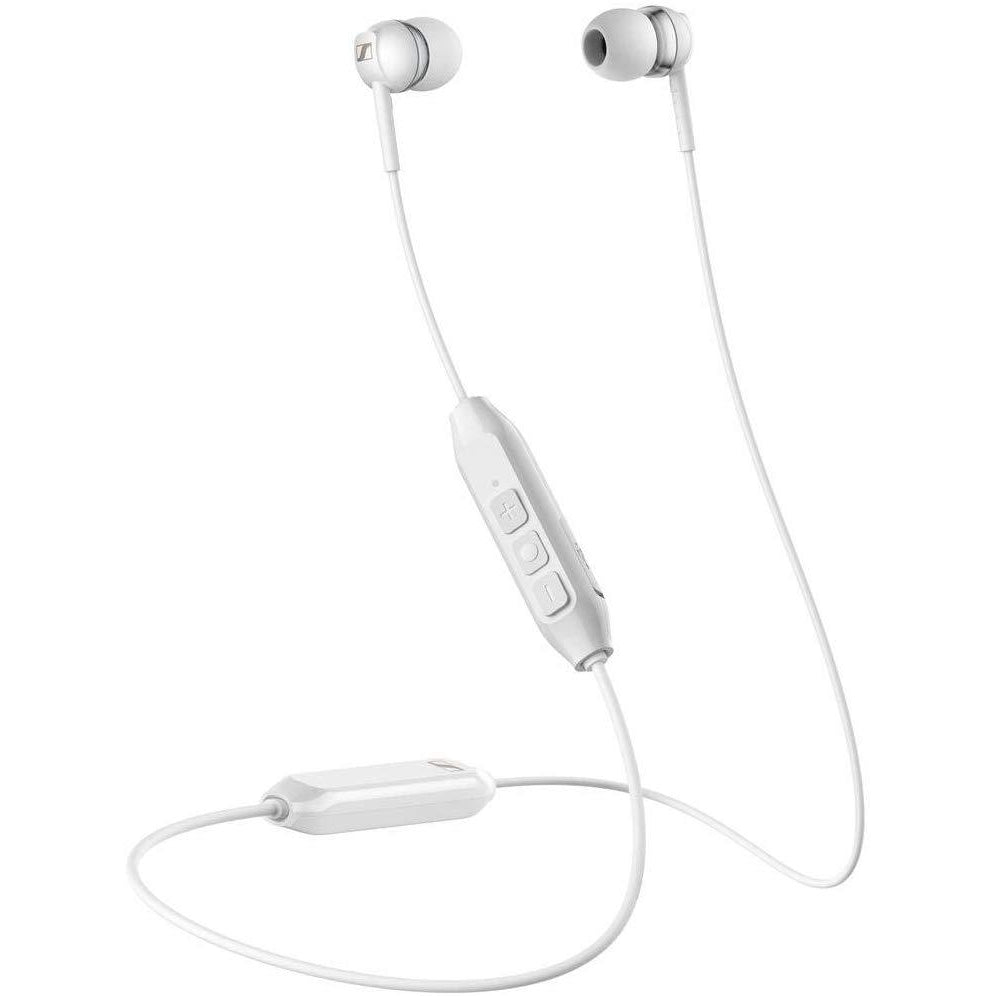 Sennheiser CX 150BT Wireless Headphones with Necklet, White [Accessories]
