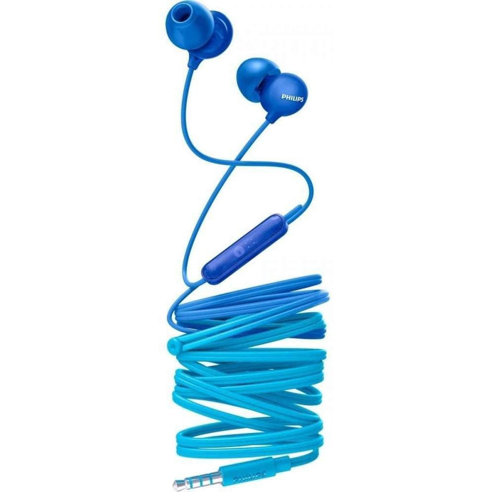 Philips in-ear headphones SHE2405BL/00 in-ear headset with microphone - Blue [Accessories]