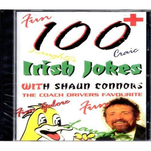 100 Irish Jokes by Shaun Connors [CD]