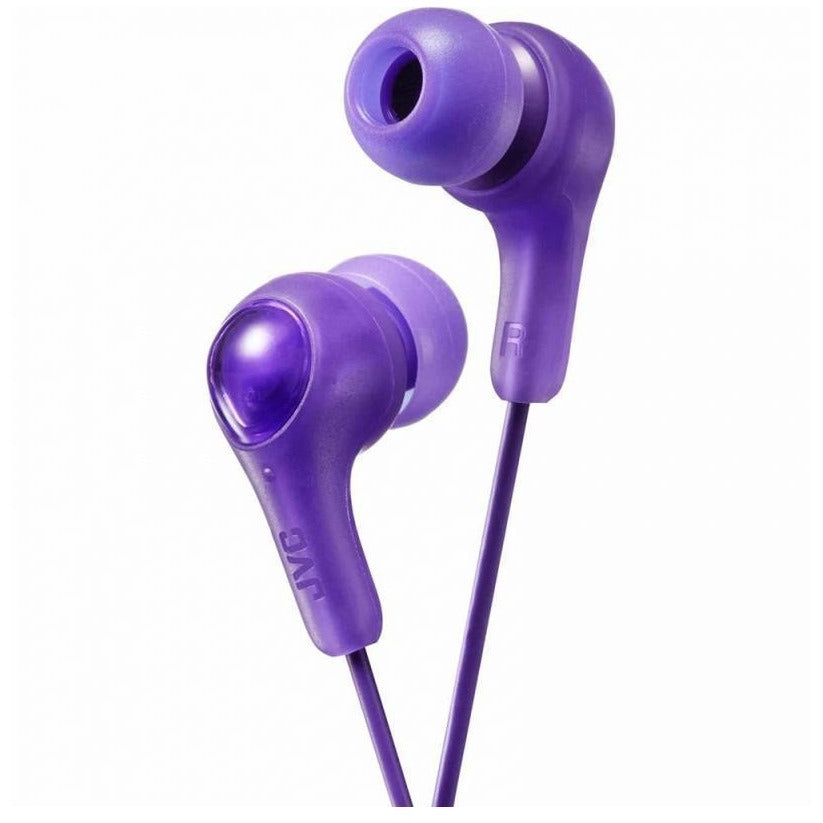 JVC Gumy Plus In Ear Earphones - Violet [Accessories]