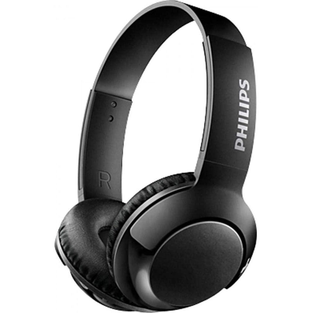 Philips on-ear headphones SHB3075BL/00 on-ear Bluetooth headphones - Black [Accessories]