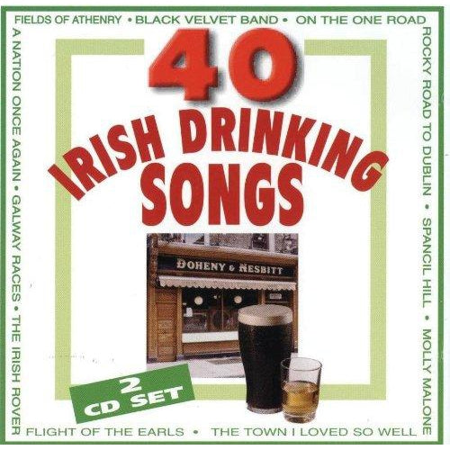 40 Irish Drinking Songs: Various Artists [CD]