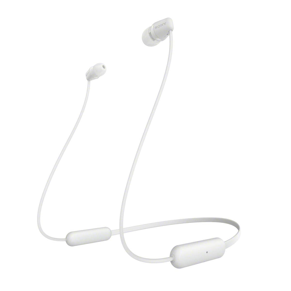 SONY WI-C200 Wireless Bluetooth Earphones - White [Accessories]