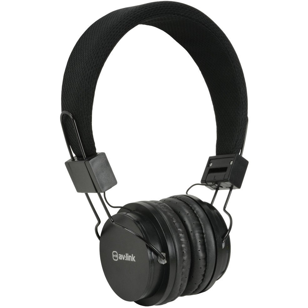 AV:Link Kids Headphones Black [Accessories]