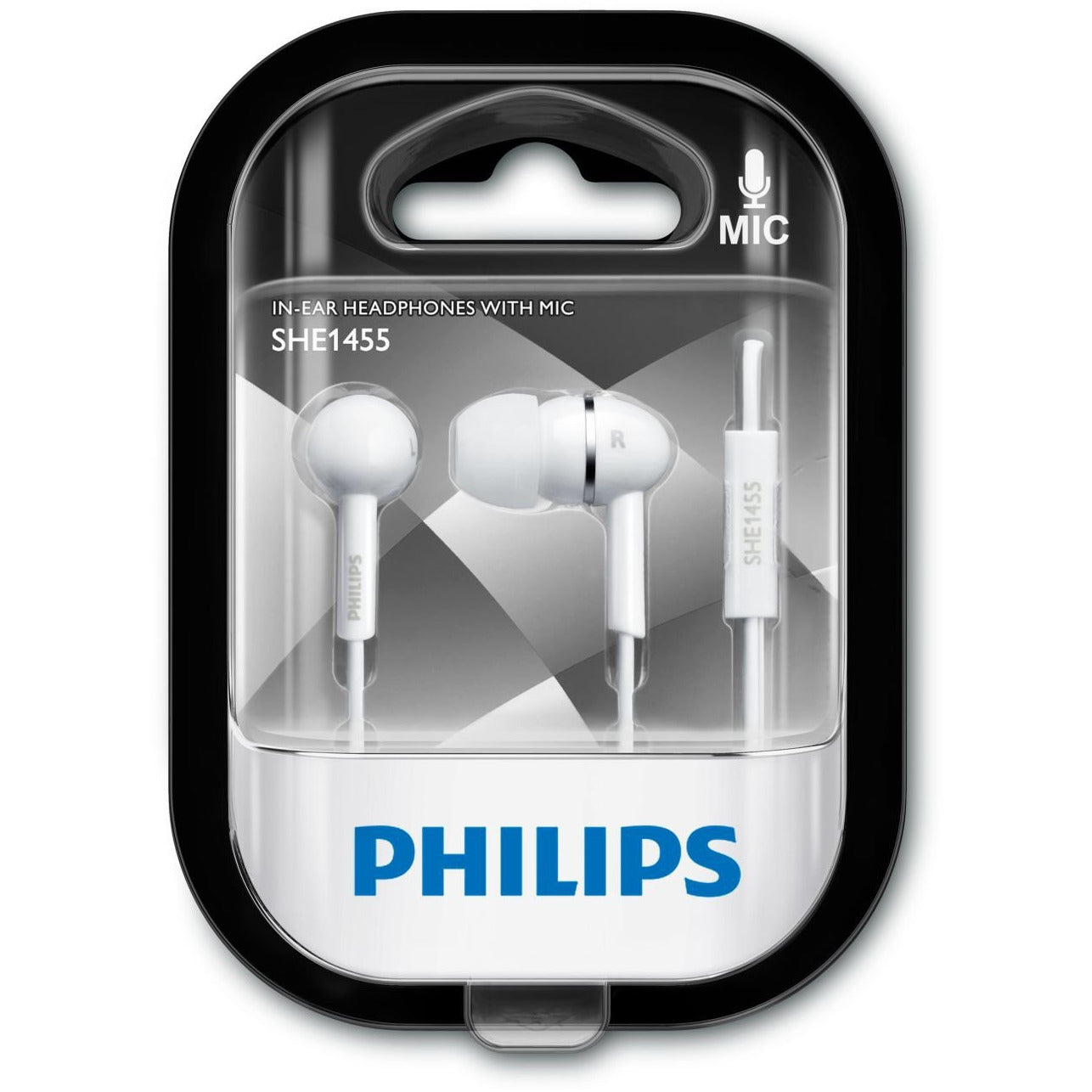 Philips In Ear with Mic White [Accessories]