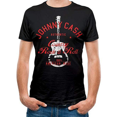 Johnny Cash Country Rock N Roll [T-Shirts]