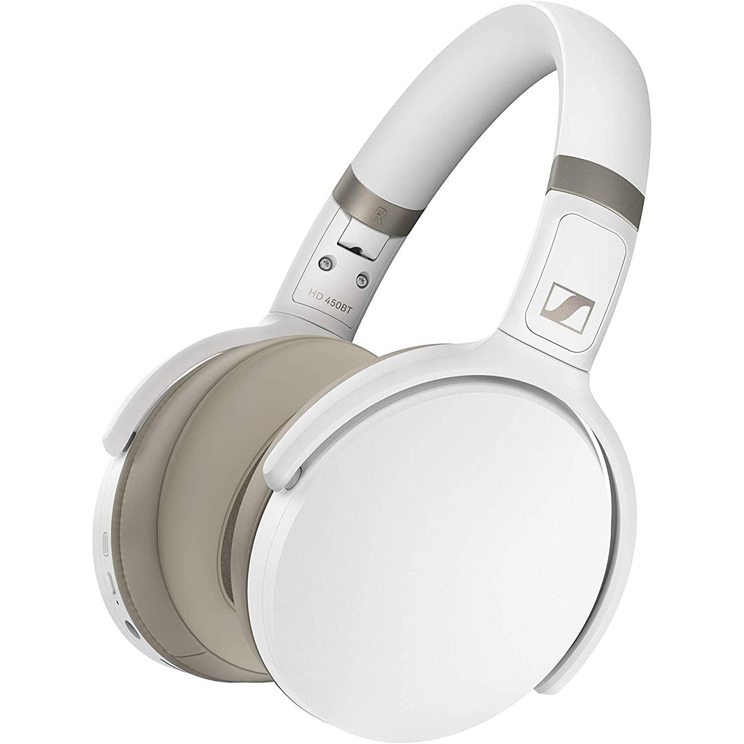 Sennheiser HD 450BT Wireless Headphones White [Accessories]