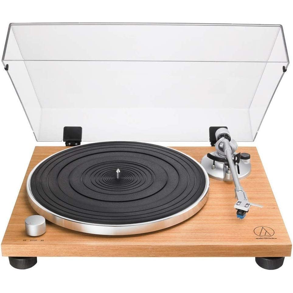 Audio-Technica AT-LPW30TK Wood Base Turntable [Tech & Turntables]